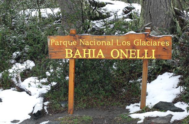 bahia onelli glacier argentinië patagonië el calefate