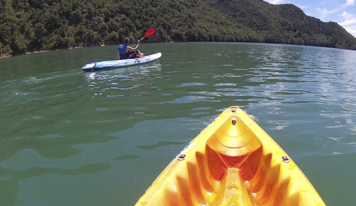 Photo of Kayaking in La Baells Reservoir, Berga, Catalaanse Pyreneeën