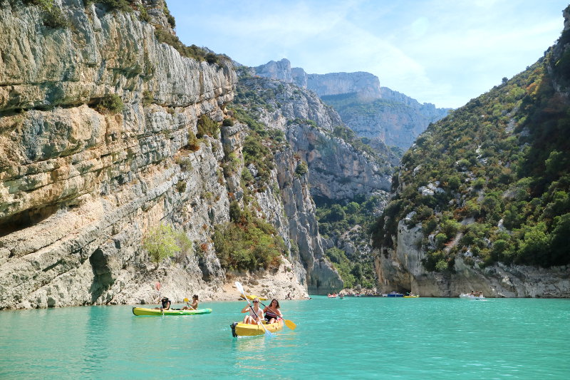 Kano huren in Les Gorges du Verdon - AllinMam.com