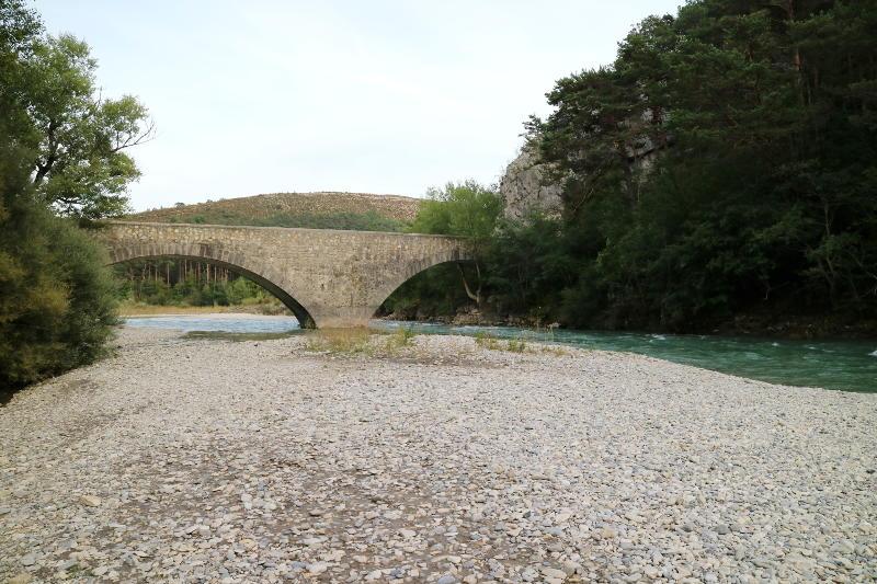 Pont de Carajuan Les Gorges du Verdon - AllinMam.com