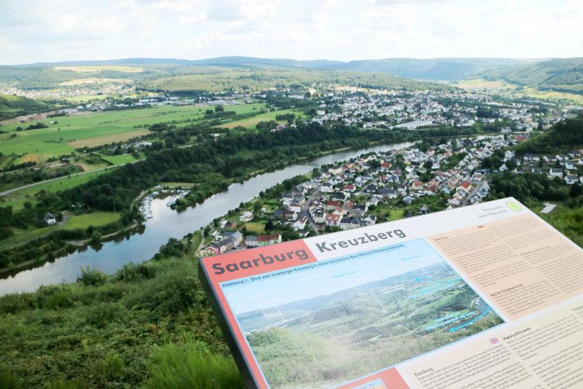 Uitzicht over de Saar - AllinMam.com