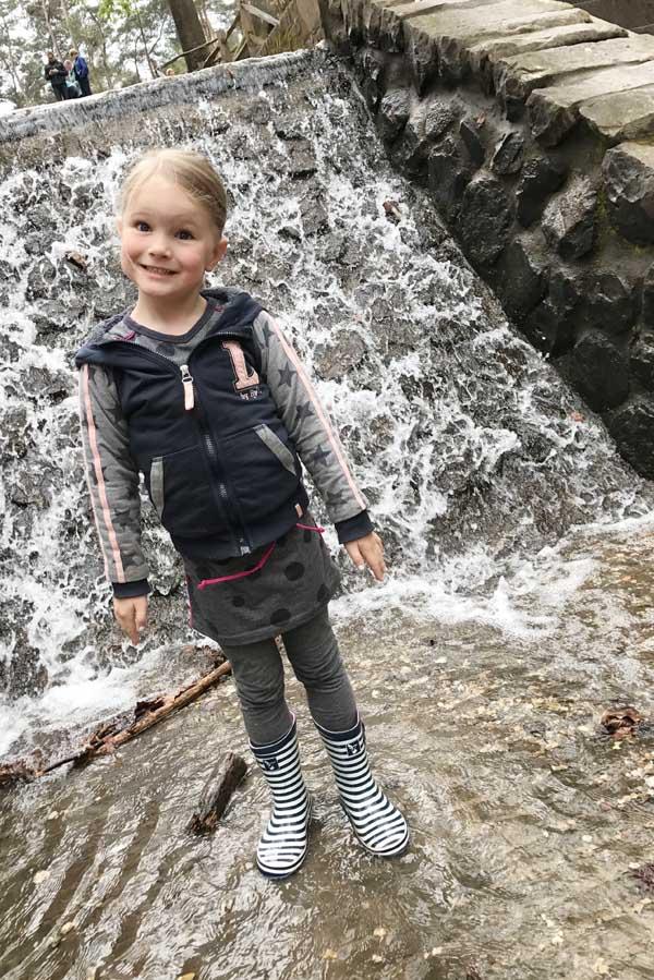 Loenense waterval bij Landal Heideheuvel - AllinMam.com