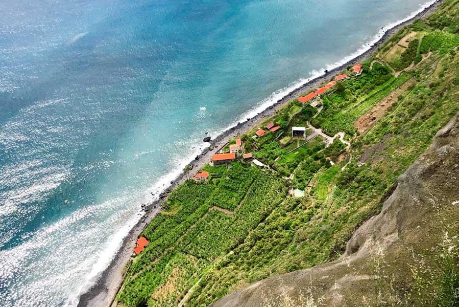 Fajã dos Padres: prachtig afgelegen plek op Madeira, vanuit kabelbaan - AllinMam.com
