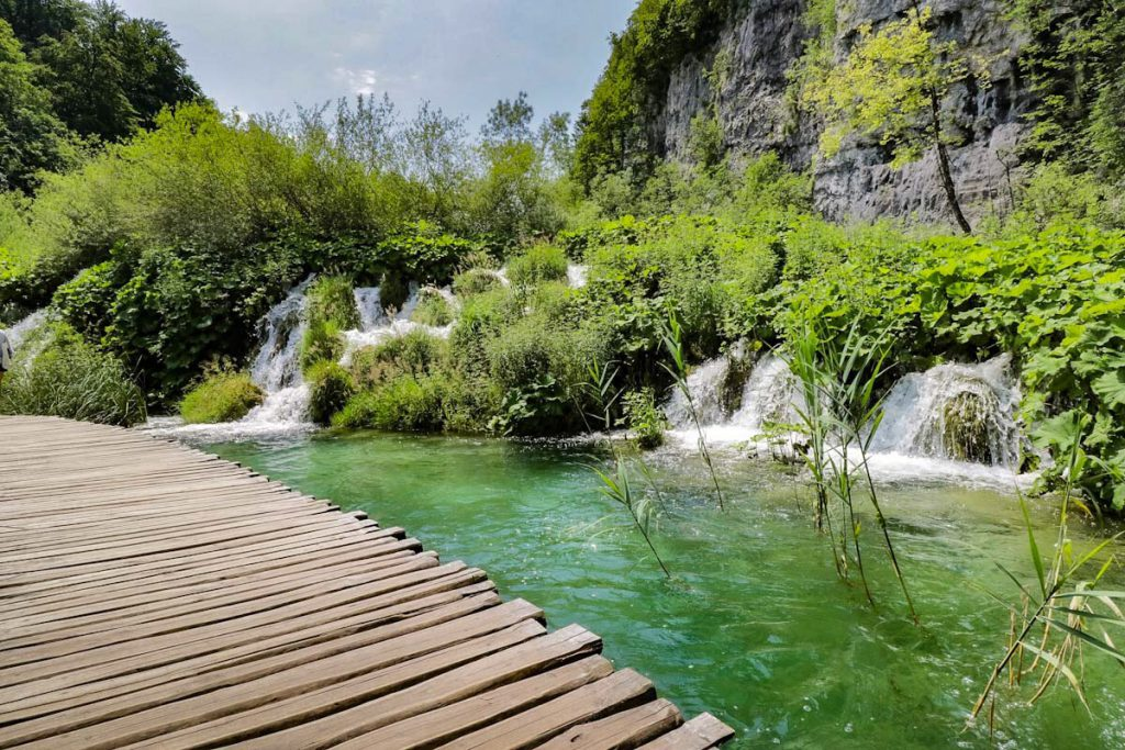 Plitvice meren in Kroatië