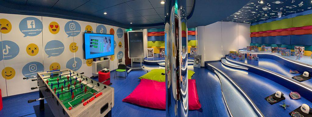 MSC Grandiosa kids club - Reislegende.nl