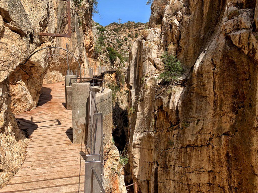 Caminito del Rey wandelpad eerste kloof Andalusië - Reislegende.nl