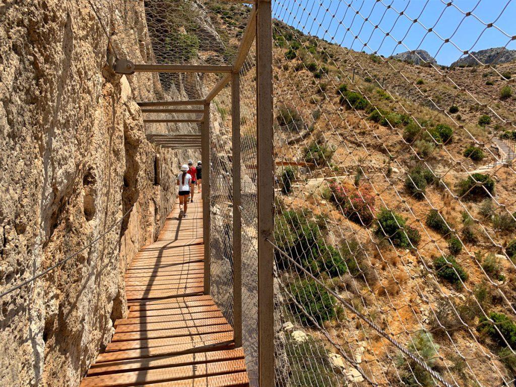 Caminito del Rey einde van het wandelpad Andalusië - Reislegende.nl