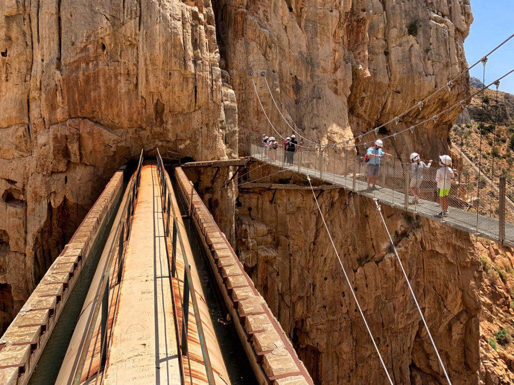 Caminito del Rey hangbrug Andalusië - Reislegende.nl