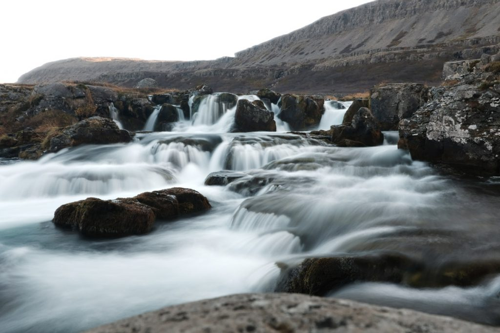 Dynjandi watervallen Westfjorden IJsland Reislegende - Reislegende.nl