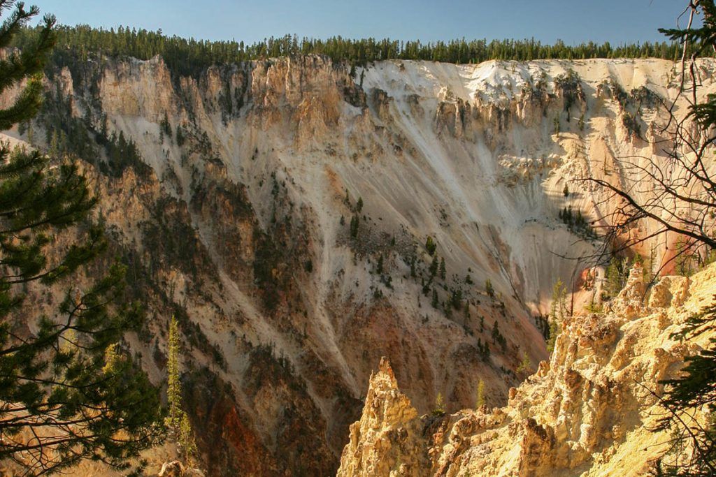 Grand Canyon in Yellowstone - Yellowstone National Park: 10x wat je niet mag missen - Reislegende.nl