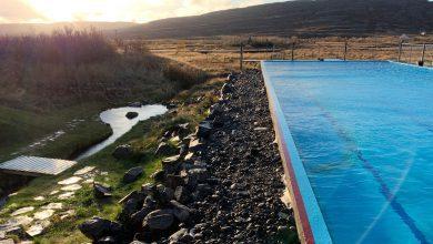 Photo of Gvendarlaug hot pools in IJslandse Westfjorden
