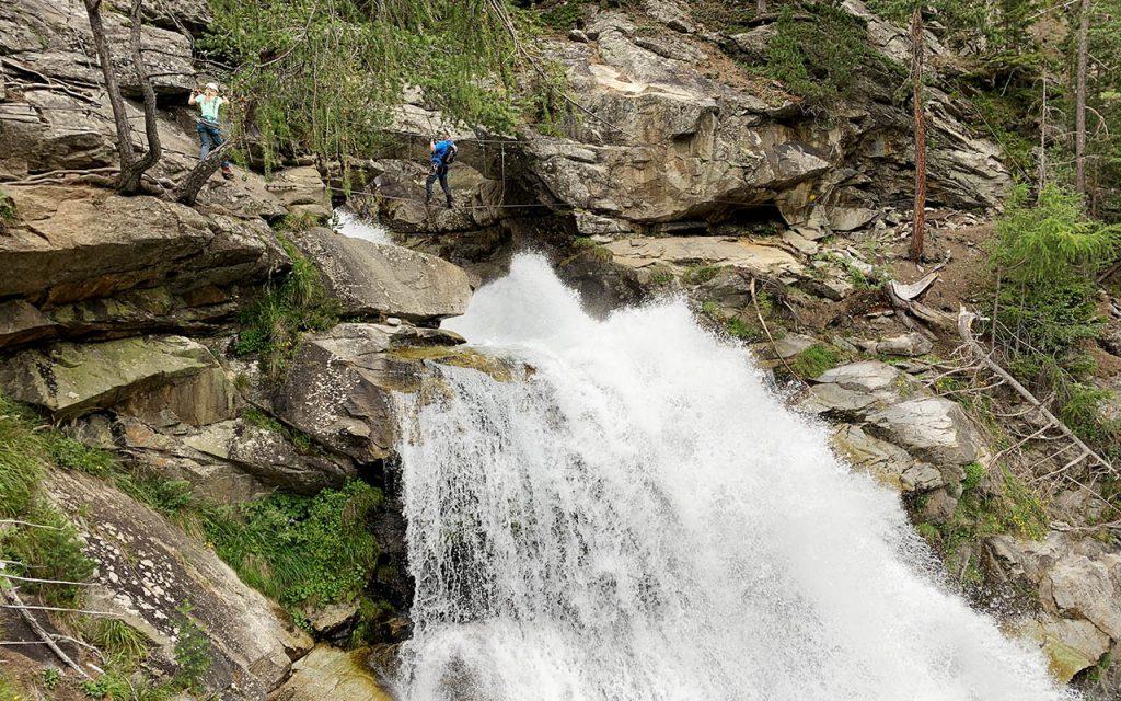 Klettersteig Stuibenfall - Wandelen naar de Stuibenfall, hoogste waterval in Tirol - Reislegende.nl