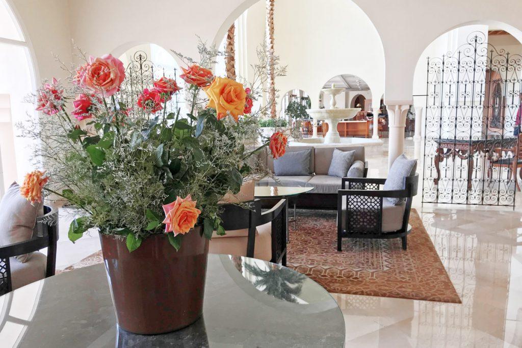 Hotel The Residence Tunis ontvangst