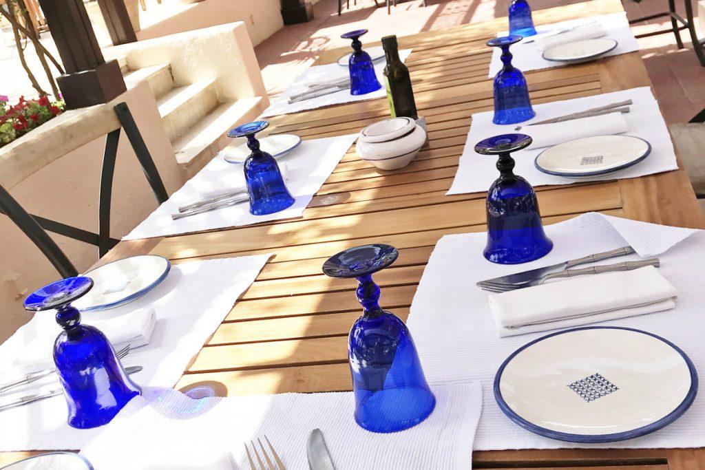 Hotel The Residence Tunis restaurant terras