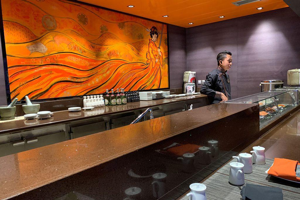 Japans eten op MSC Grandiosa Reislegende.nl