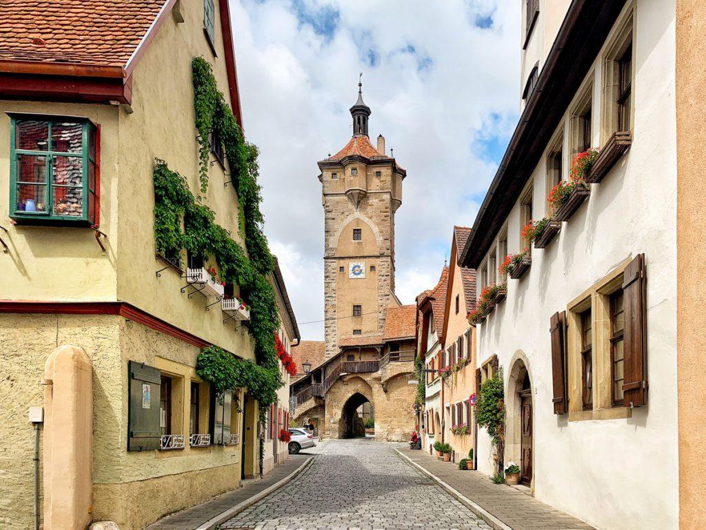 Klingentor Bezienswaardigheden in Rothenburg ob der Tauber Romantische Strasse Duitsland Reislegende.nl