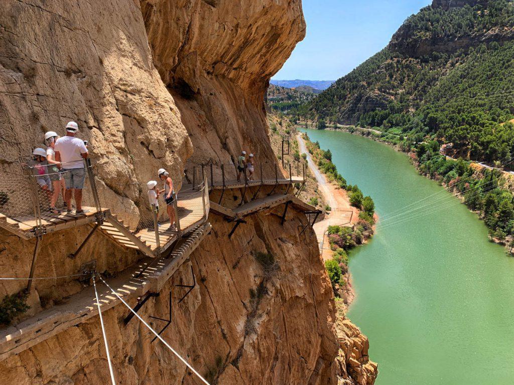 Laatste gedeelte Caminito del Rey wandelpad Andalusië - Reislegende.nl