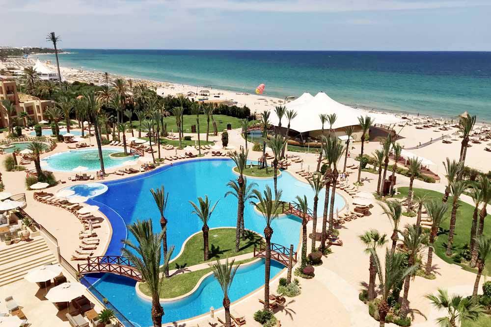 Movenpick hotel Sousse zwembad