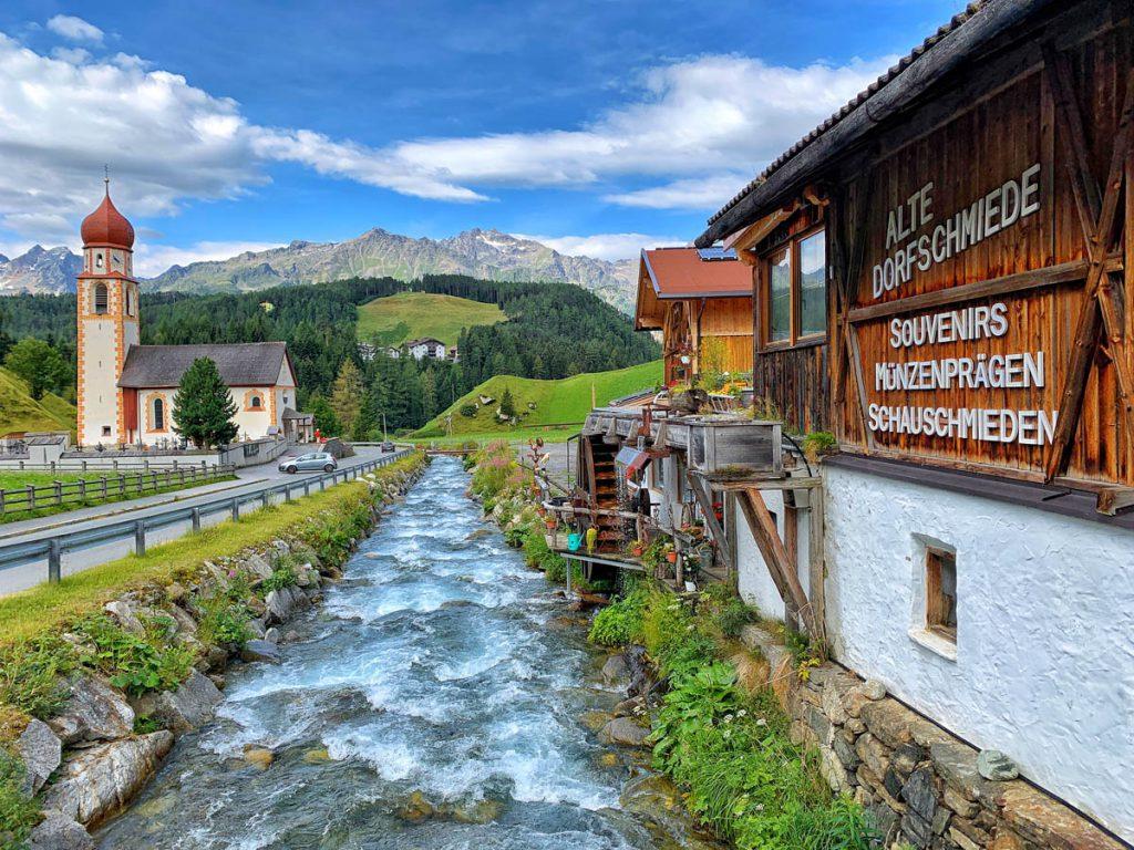 Niederthai autoroute door Tirol en Vorarlberg - Reislegende.nl