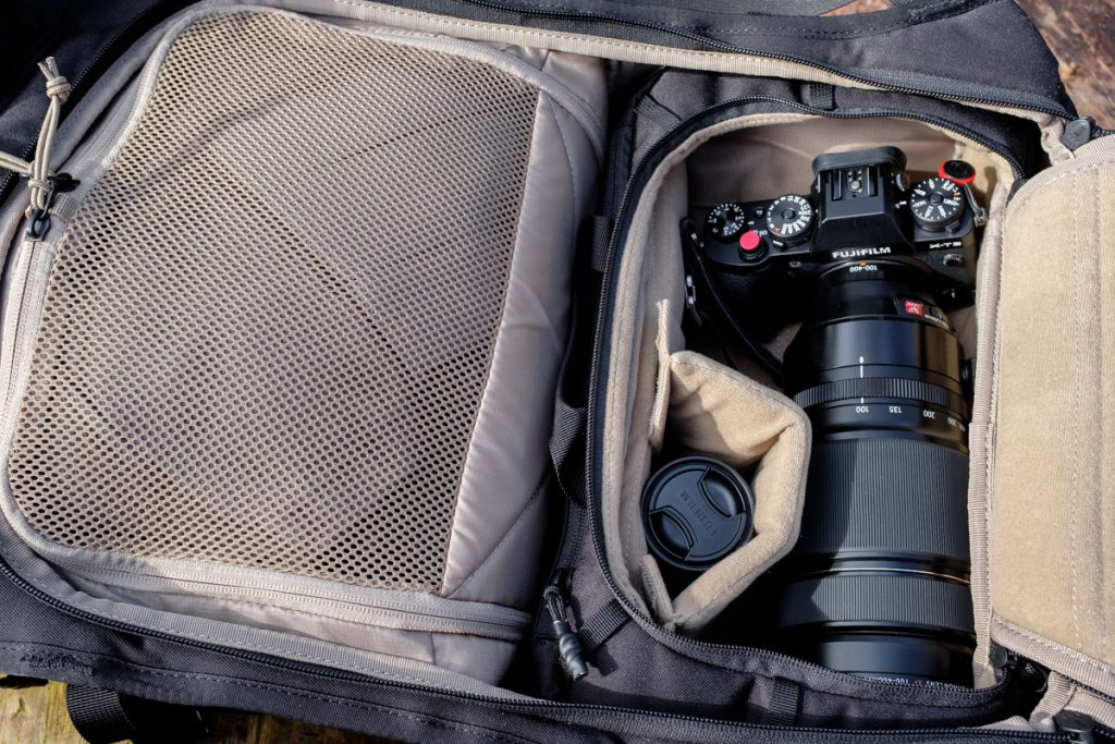 Review Thule Covert DSLR 32L stevige en uitneembare camera insert Thule cocon - Reislegende.nl