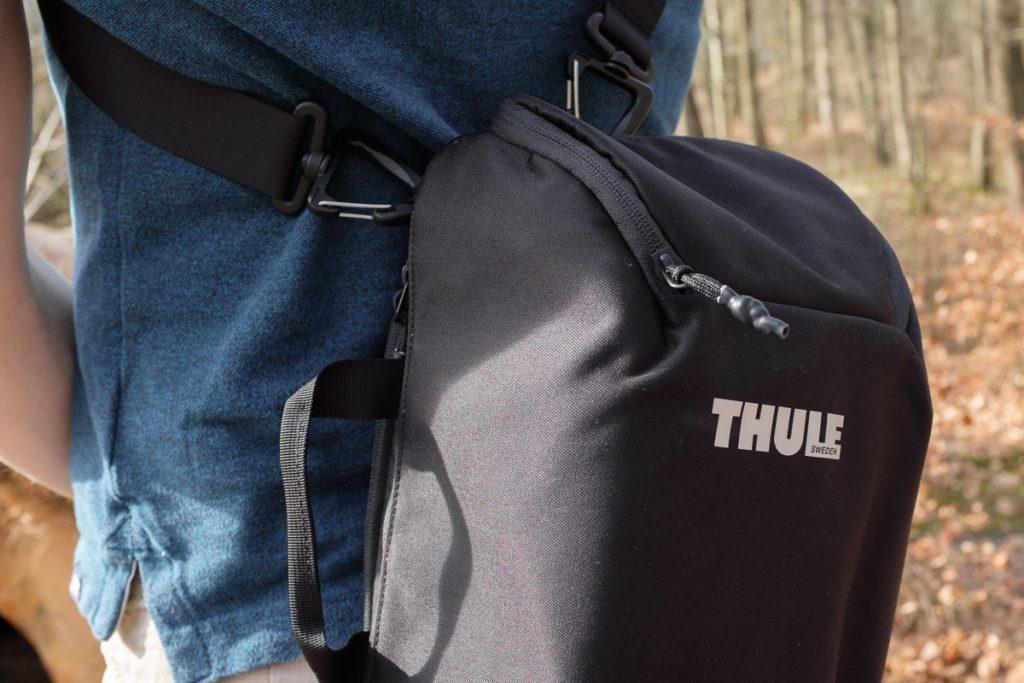Review Thule Covert DSLR 32L camera insert als losse tas Thule cocon Thule sling bag - Reislegende.nl