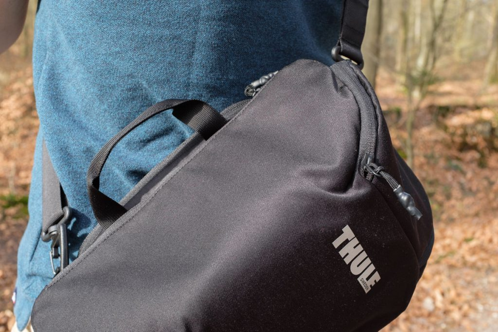 Review Thule Covert DSLR backpack 32L uitneembare camera insert als schoudertas Thule cocon Thule sling - Reislegende.nl