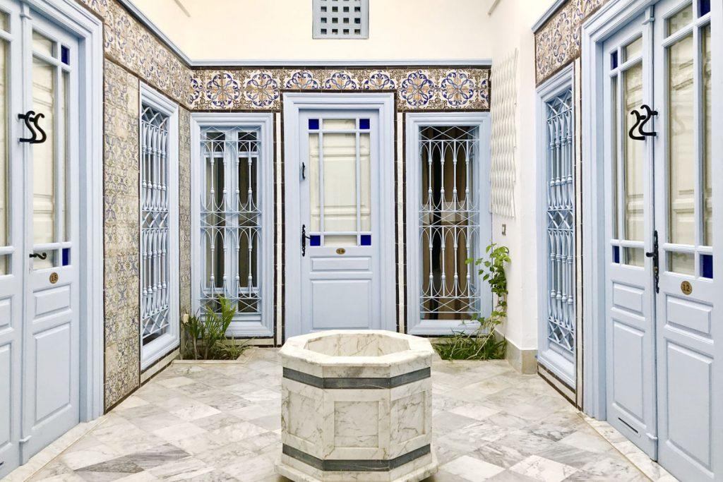4x top accommodatie in Tunesië, Sidi Bou Said Hotel Dar Said hotel de charme