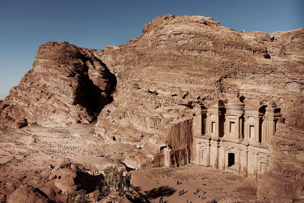 The Monastery, Ad Deir  - Tips voor een bezoek aan Petra, wereldwonder in Jordanië - Reislegende.nl
