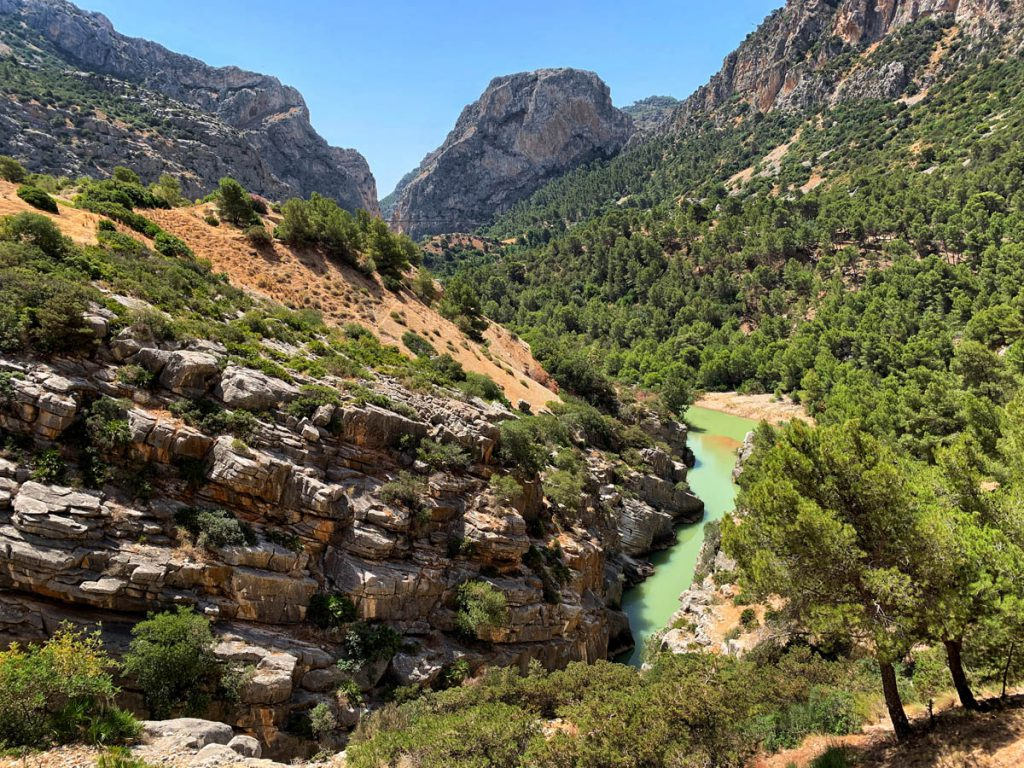 Valle del Hoyo Caminito del Rey Andalusië Andalusië - Reislegende.nl