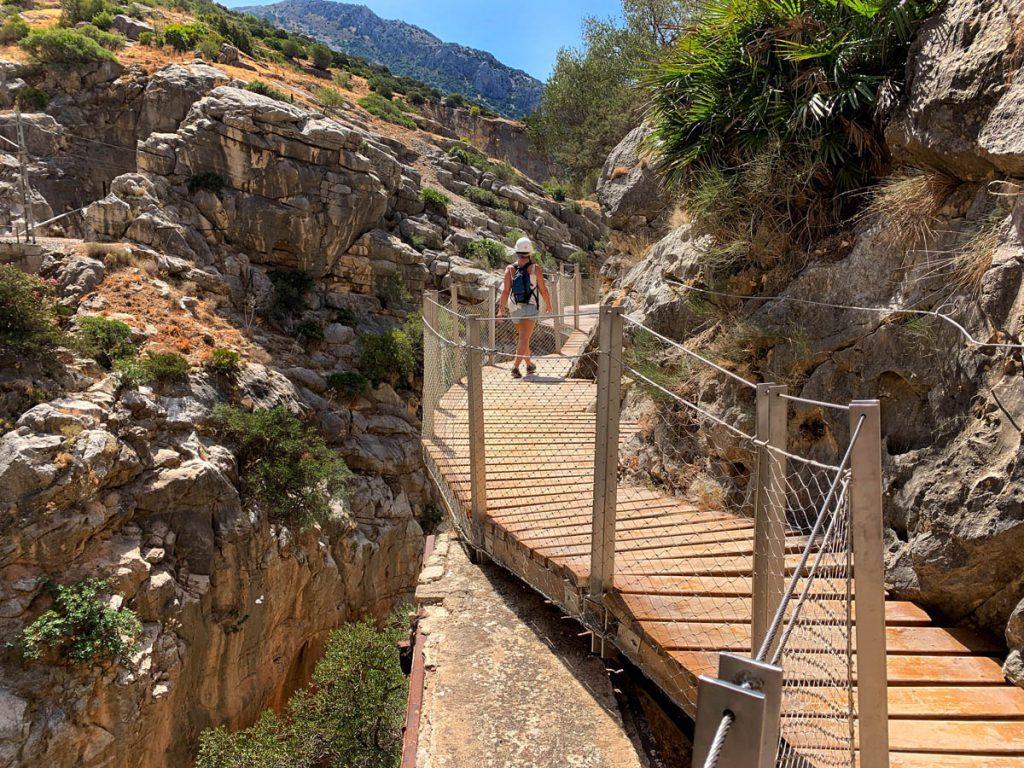 Valle del Hoyo wandelpad Caminito del Rey Andalusië - Reislegende.nl