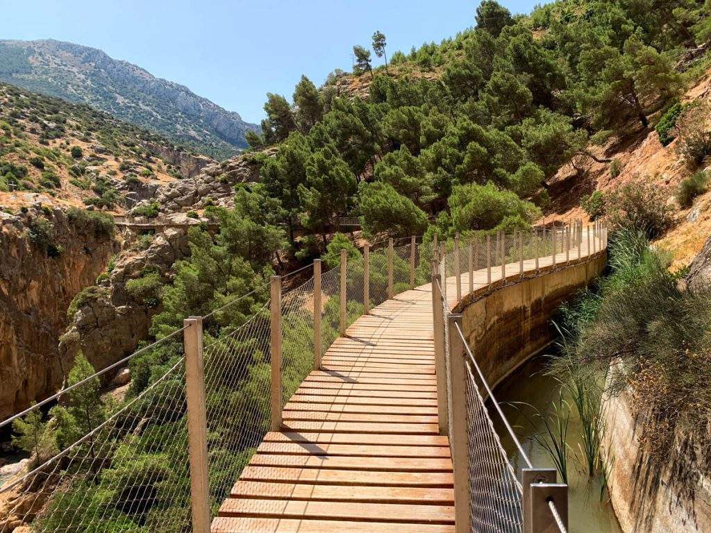 Wandelpad Caminito del Rey naar Valle del Hoyo Andalusië - Reislegende.nl