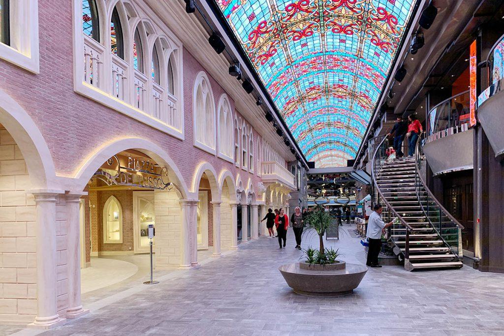 Winkels op MSC Grandiosa - Reislegende.nl