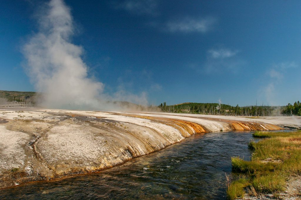 Firehole River in Yellowstone - Yellowstone National Park: 10x wat je niet mag missen - Reislegende.nl