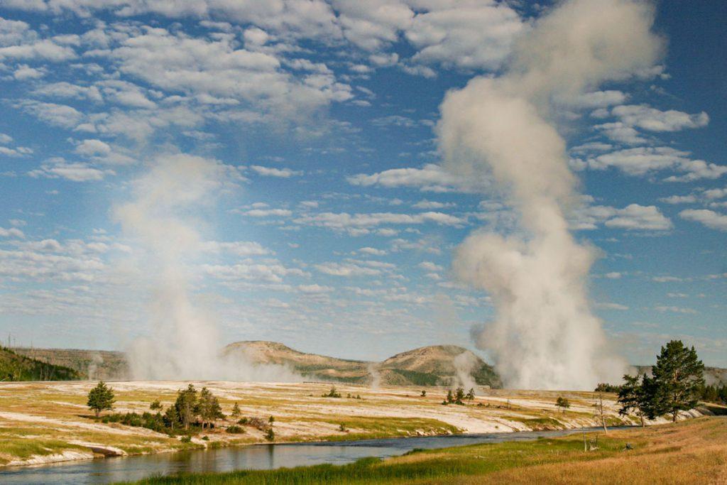 Midway Geyser Basin in Yellowstone - Yellowstone National Park: 10x wat je niet mag missen - Reislegende.nl