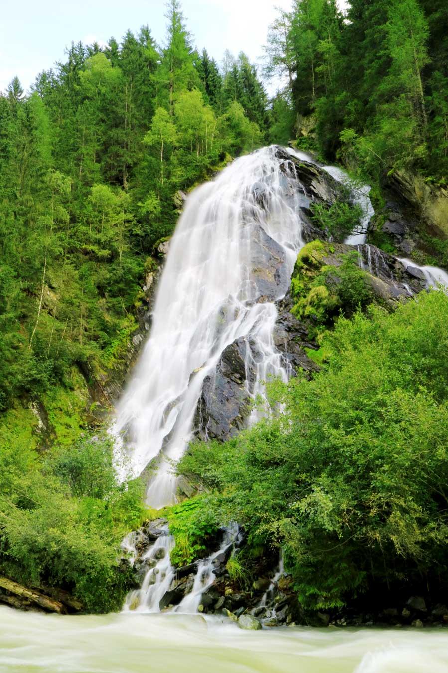 Lebensraum wasserfall, Osttirol - AllinMam.com