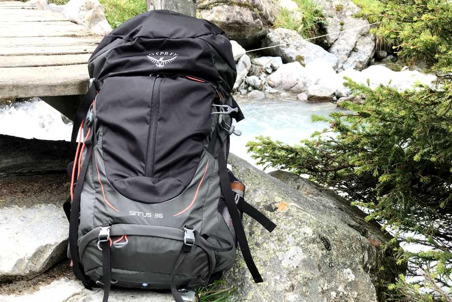 Osprey Sirrus 36 dames rugtas / backpack [REVIEW] - AllinMam.com