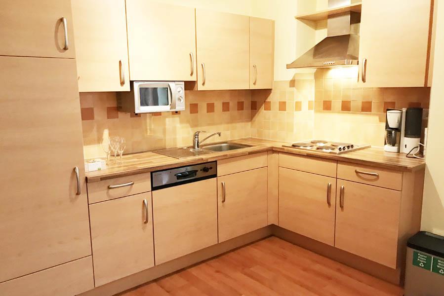Landal Bad Kleinkirchheim appartement keuken - AllinMam.com