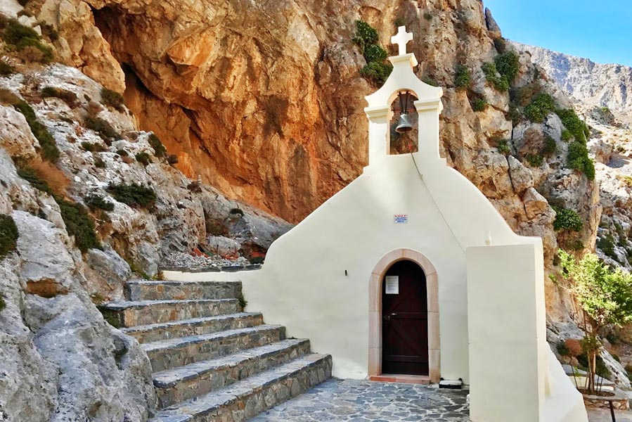 Saint Nicholas Kourtaliotis of Asomatis, Kreta - AllinMam.com