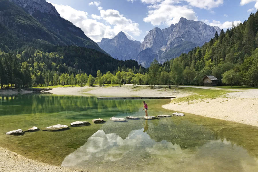 Lake Jasna Kransjka Gora - AllinMam.com