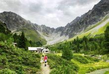 Photo of Met kinderen wandelen van Feichten naar de Verpeilhütte in Kaunertal