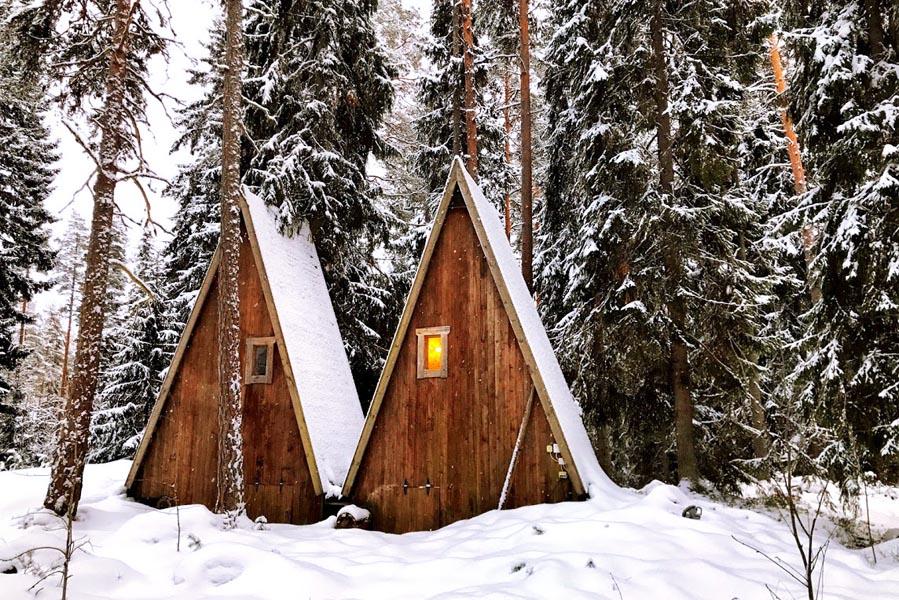 Lehmonkarki cabins Finland - AllinMam.com
