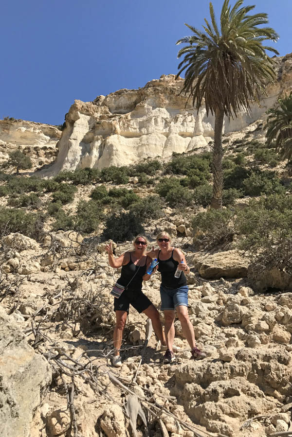 Martsalo beach op Kreta: wandeling door kloof naar verborgen strand - AllinMam.com