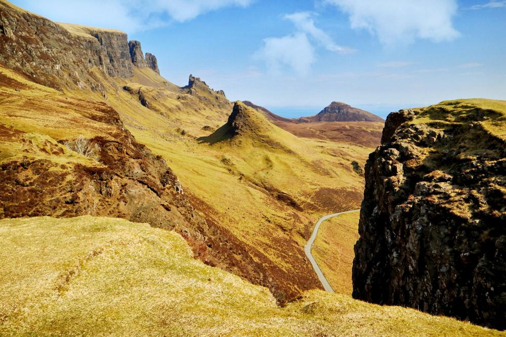 The Quiraing, Isle of Skye - Rij deze autoroute langs Isle of Skye bezienswaardigheden - Reislegende.nl