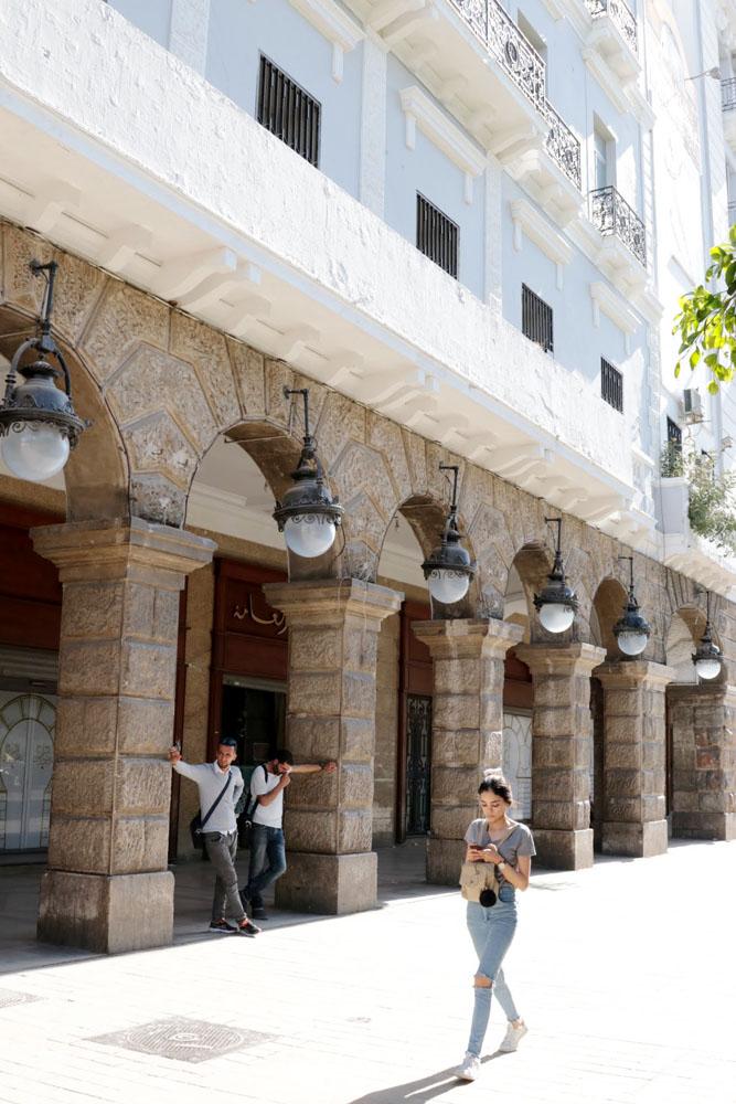 Avenue Habib Bourguiba - Wat te doen in Tunesië - Reislegende.nl