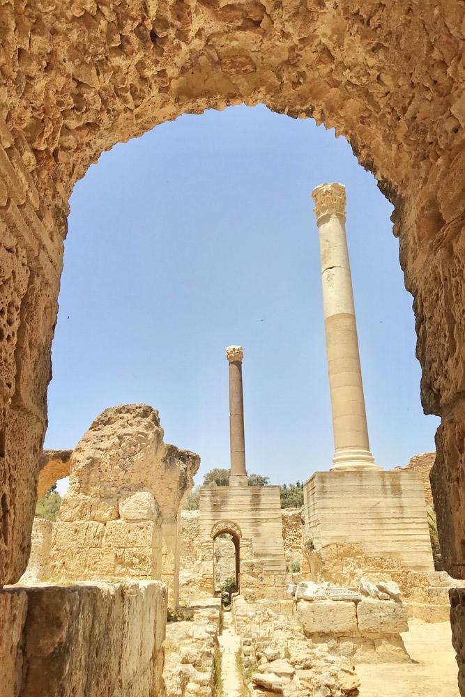 Oude stad van Carthage in Tunesië - Wat te doen in Tunesië - Reislegende.nl