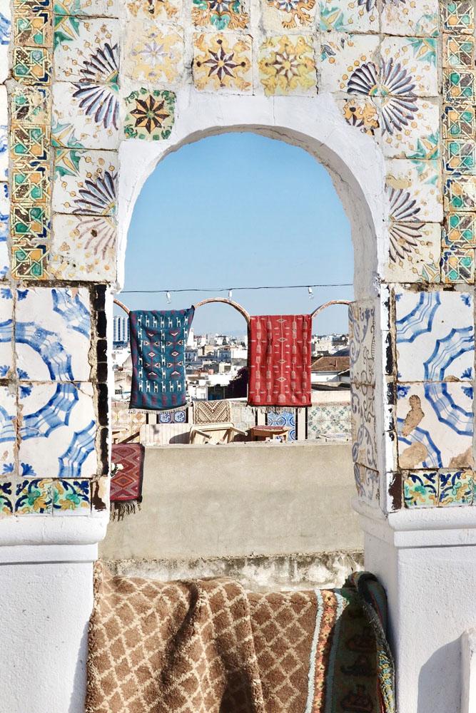 medina van tunis panorama view - Wat te doen in Tunesië - Reislegende.nl