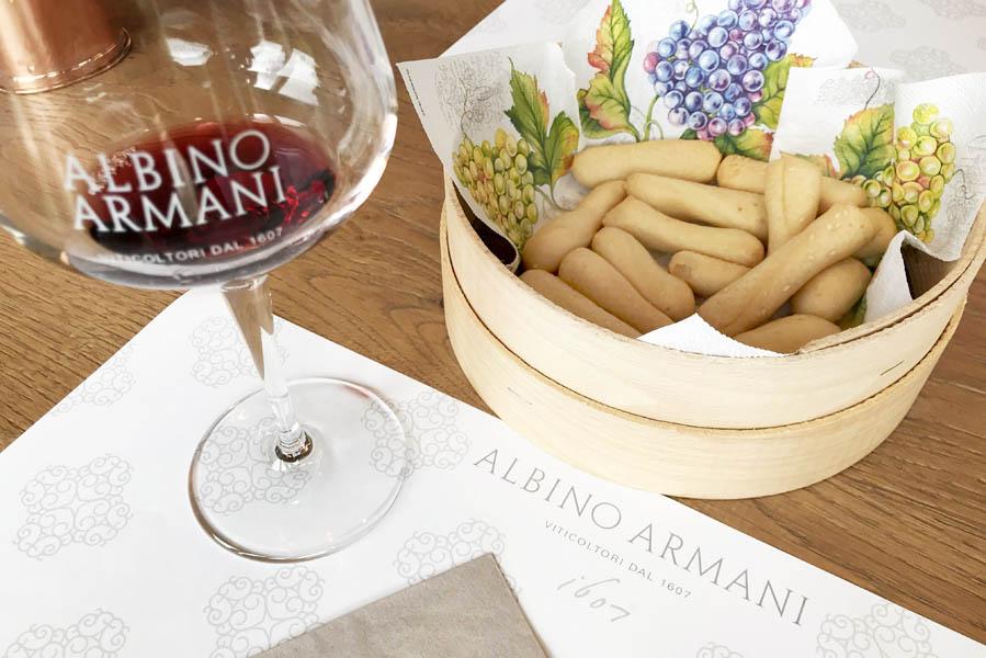 Albino Armani wijnproeverij Veneto Valpolicella - Reislegende.nl