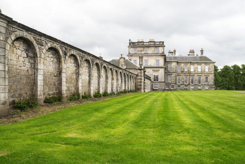 Hopetoun Estate - Outlander filmlocaties in Schotland - Reislegende.nl