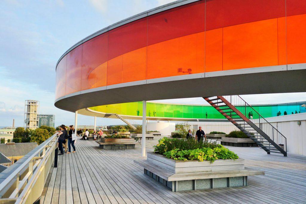 ARoS Aarhus kunstmuseum, Denemarken