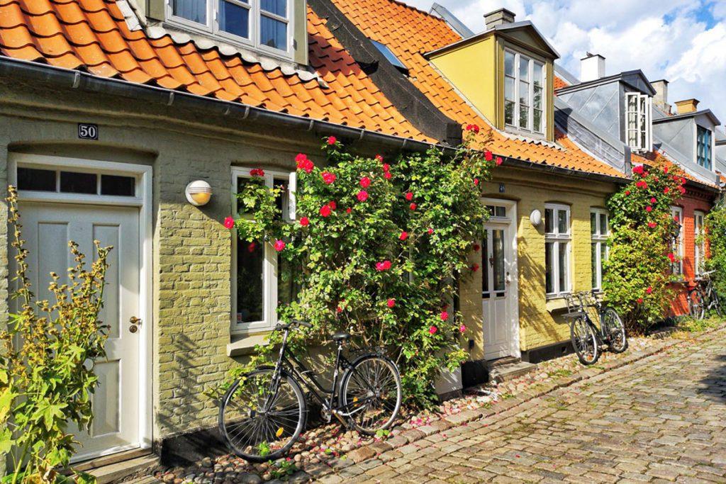 Møllestien in Aarhus, Denemarken